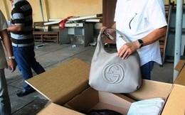 Truy tố 2 cán bộ Hải quan trong vụ buôn lậu hàng hiệu Gucci
