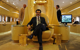 Thú chơi ngông của Hoàng tử tỷ phú giàu nhất Trung Đông