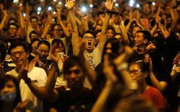 """Báo đảng TQ: """"Hồng Kông ngập tràn không khí mừng Quốc khánh!"""""""