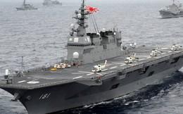 Hạm đội tàu đổ bộ kiêm tàu sân bay của những quốc gia quanh TQ