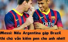 Ảnh chế: Neymar là gián điệp của...Argentina
