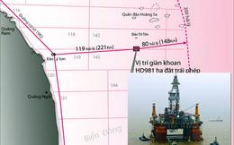 Giàn khoan Trung Quốc hoạt động tại biển VN là bất hợp pháp
