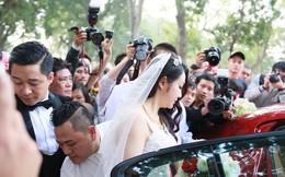 Cận cảnh siêu xe và vợ xinh đẹp của Tuấn Hưng ngày cưới
