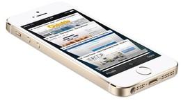 """""""Xơi"""" iPhone 5S để bù mũ bảo hiểm bị vỡ"""
