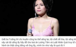 Hà Linh: 'Giết bác sĩ Tường thì chị Huyền cũng không sống lại'