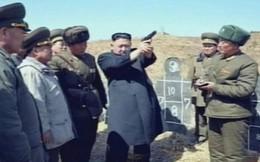 Triều Tiên lấy biểu tượng quốc gia của TQ làm bia tập bắn