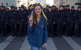 Biểu tình phản chiến trên khắp Ukraine và Nga