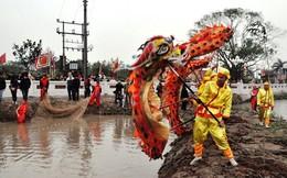 """Đền Trần phục dựng nghi lễ """"rước nước, tế cá"""""""