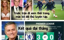 Ảnh vui: Mourinho đại thắng nhờ đi xem người mẫu