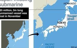 Hải quân Nhật Bản đánh mất tàu ngầm trị giá 5 triệu USD