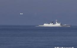 Máy bay Trung Quốc lượn nhiều vòng trên khu vực tàu Việt Nam