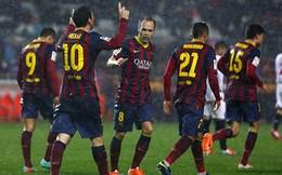 """Bài """"ru ngủ"""" đầy ức chế của Barca"""