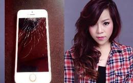 Minh Chuyên gặp tai nạn: Vỡ nát iphone, suýt chết trong gang tấc