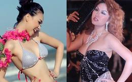 Cách phô diễn cơ thể kỳ cục của sao Việt