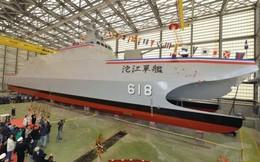 Đài Loan khoe tàu tên lửa tàng hình thách thức Type 022 TQ