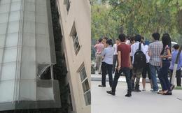 Thương xót cho cô gái trẻ tử vong ở trường ĐH Thăng Long