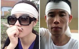 3 sao Việt đăng ảnh 'tự sướng' trong đám tang