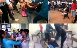 4 clip nữ sinh đánh đấm dã man không dành cho người yếu tim