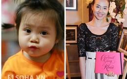 Đinh Ngọc Diệp bay ra Hà Nội gặp bé gái 17 tháng tuổi bệnh nặng