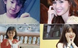 """Soi ảnh """"con nít"""" của các hot girl Việt đã công khai phẫu thuật thẩm mỹ"""