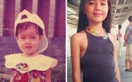 Hot girl Việt nhí thay đổi chóng mặt khi trưởng thành
