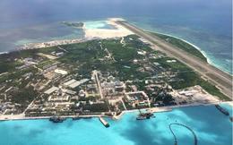 """Phẫn nộ TQ """"khoe"""" ảnh đường băng xây phi pháp trên đảo của VN"""