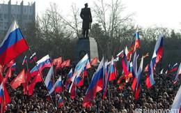 Ukraine: 10.000 người biểu tình đòi Crimea sáp nhập vào Nga