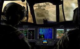 """Mỹ chế tạo """"mắt thần"""" giúp trực thăng nhìn xuyên bụi và sương mù"""