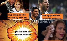 Ramos nổi khùng đánh fan nữ vì Cris Ronaldo