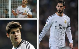"""Những tài năng trẻ bị Dải ngân hà Real Madrid """"giết chết"""""""