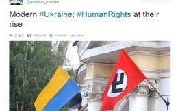 """Ukraine tố bị Nga """"chơi khăm"""" trên Twitter"""