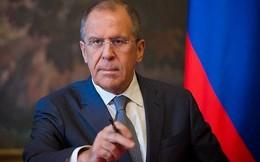 """Ngoại trưởng Nga """"bắt bẻ"""" phương Tây trên sóng truyền hình"""