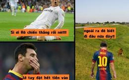 Tay trắng vì thua cá độ, Messi lủi thủi ra đê ở