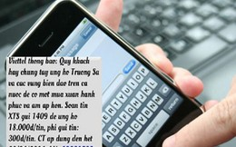 Thu phí tin nhắn ủng hộ biển đảo: Nhà mạng nói đúng luật