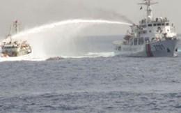 Ngư dân Việt hiên ngang tiến sát giàn khoan Hải Dương 981