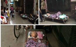 Cụ bà 82 bị con dâu, cháu nội để nằm co quắp giữa trời mưa