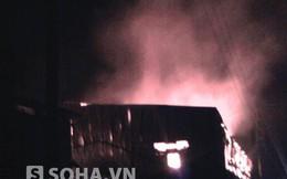 Bắc Ninh: Xưởng giấy hàng nghìn mét vuông chìm trong biển lửa