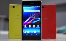 "Sony Xperia Z1 Compact ""lấp lánh"" tại CES 2014"