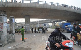 """Đôi nam nữ """"bay"""" qua thành cầu Vĩnh Tuy rơi từ độ cao 5m"""