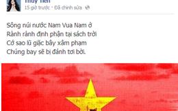 Biển Đông dậy sóng: 216 giờ qua, sao Việt nghĩ gì?