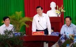 Chủ tịch nước làm việc tại Khu lưu niệm GS Trần Đại Nghĩa