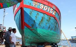 Giữ lại tàu cá bị tàu Trung Quốc đâm chìm để làm chứng tích