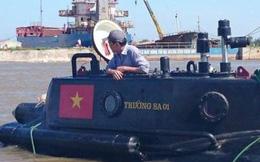 Tàu ngầm Trường Sa sẽ thử nghiệm trong bão