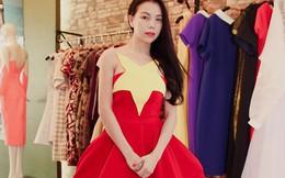 Trà Ngọc Hằng đặt may váy đặc biệt dự 'Đêm hội chân dài'