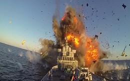 Khoảnh khắc tên lửa chống hạm hủy diệt mục tiêu