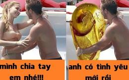 """Ảnh chế: Gotze bỏ """"gấu"""" ôm cúp vì Đức vô địch World Cup"""