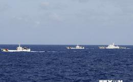 Tàu Trung Quốc cản tàu Việt Nam tiếp cận giàn khoan trái phép