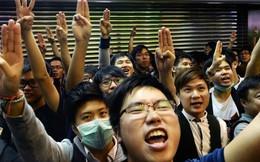 Hiệp hội Sinh viên Hong Kong bắt đầu bao vây trụ sở chính quyền