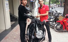 Tuấn Hưng chịu chơi sắm xế khủng Ducati Diavel Cromo