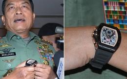 Tướng Indonesia quăng đồng hồ, thanh minh không tham nhũng
